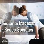 4 formas de hundir tu reputación de marca en redes sociales