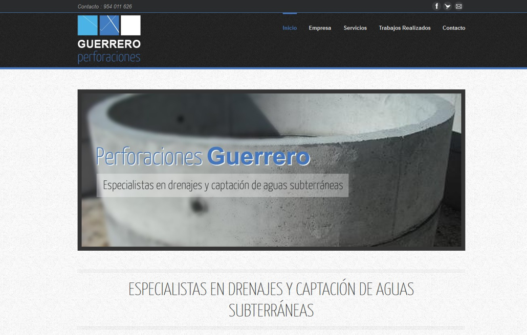 perforacionesguerrero.com