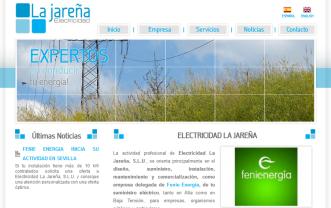 electricidadlajareña.es
