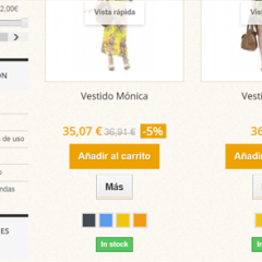 """Cómo quitar el enlace de """"Nuestras tiendas"""" en Prestashop 1.6"""