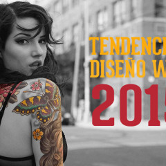 8 Tendencias en diseño web para 2015